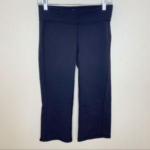 Athleta Capri Athletic Workout Leggings Black Sz S